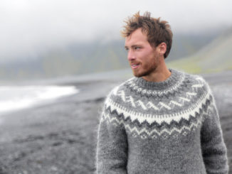 Herrenpullover stricken