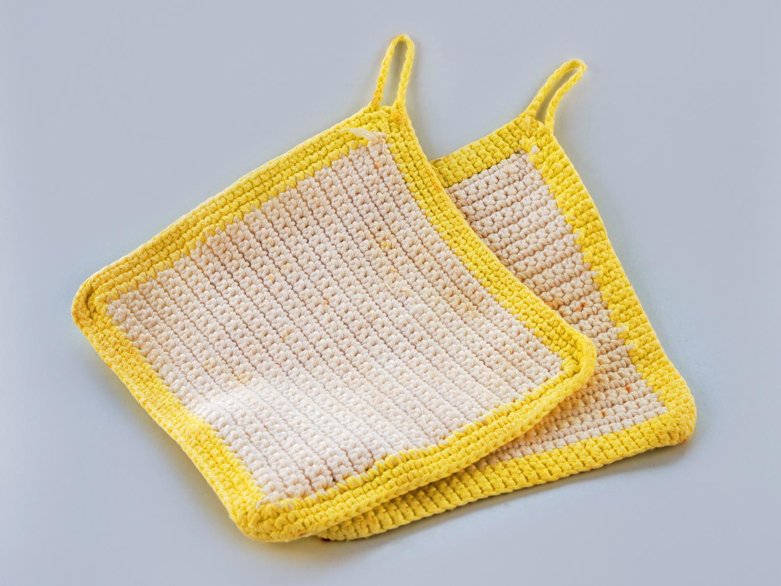 Wolle Für Topflappen : topflappen stricken handarbeiten mit anleitung ~ Watch28wear.com Haus und Dekorationen